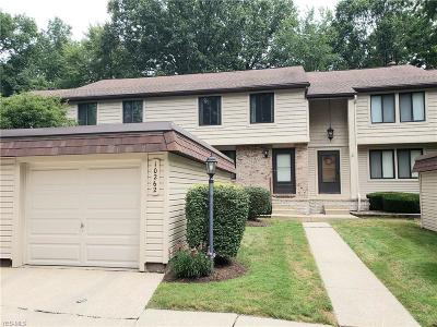 Reminderville Condo/Townhouse Active Under Contract: 10262 Spinnaker Run