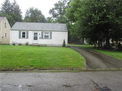 Struthers Single Family Home For Sale: 415 Tenth Street