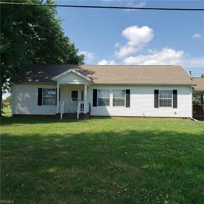 Muskingum County Single Family Home For Sale: 4325 Chandlersville Road