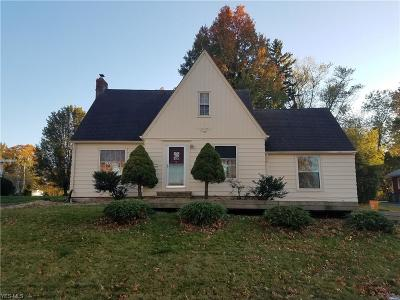 Single Family Home For Sale: 23773 Detroit Road