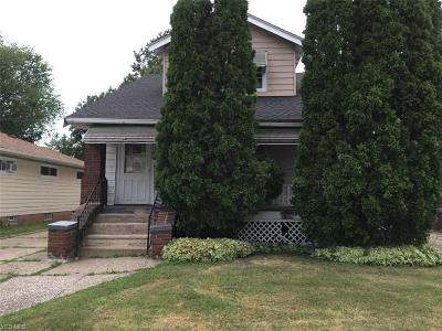 Cleveland Single Family Home For Sale: 3346 E 146th Street