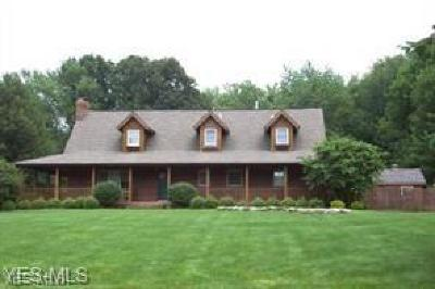 Canfield Single Family Home Active Under Contract: 7783 Memory Lane