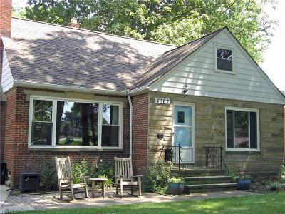 Fairview Park Single Family Home Active Under Contract: 4767 W 212th Street