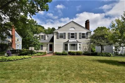 Beachwood Single Family Home Active Under Contract: 3285 Somerset Drive