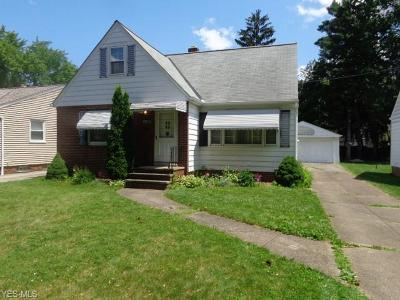 Parma Heights Single Family Home Active Under Contract: 6647 Fernhurst Avenue