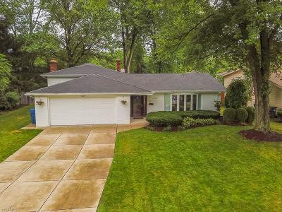 North Olmsted Single Family Home Active Under Contract: 6165 Sherwood Drive