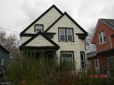 Cleveland Single Family Home Active Under Contract: 4930 Frazee Avenue