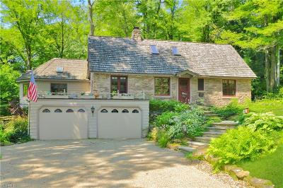 Chagrin Falls Single Family Home Active Under Contract: 8270 Summit Drive