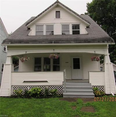 Ashtabula Single Family Home Active Under Contract: 4324 Birchwood Avenue