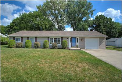 Twinsburg Single Family Home Active Under Contract: 1823 Westwood Drive