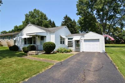 Zanesville Single Family Home For Sale: 987 Country Club Drive