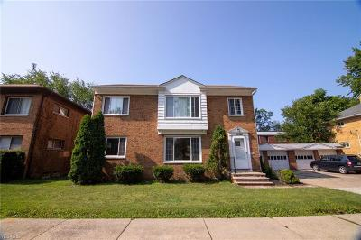 Cleveland Multi Family Home Active Under Contract: 15328 Triskett Road