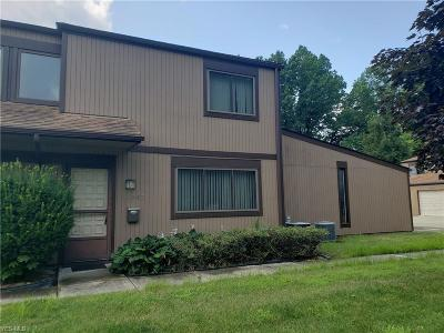 Olmsted Falls Condo/Townhouse Active Under Contract: 26647 Lake Of The Falls Boulevard