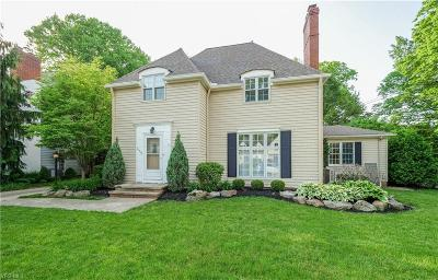 Rocky River Single Family Home For Sale: 21576 Kenwood Avenue