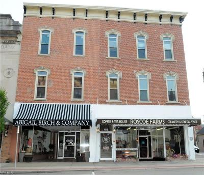Guernsey County Commercial For Sale: 653 Wheeling Avenue