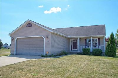 North Ridgeville Single Family Home Active Under Contract: 38003 Pebble Lake Trail