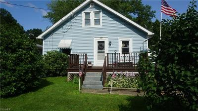 Ravenna Single Family Home For Sale: 128 N Scranton Street