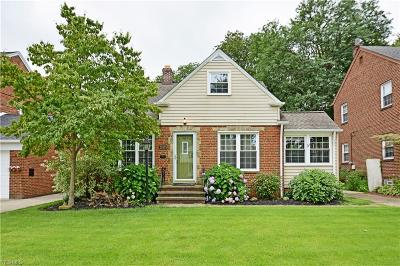 Fairview Park Single Family Home For Sale: 21975 Eaton Road