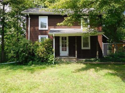 Girard Single Family Home For Sale: 1082 Keefer Road