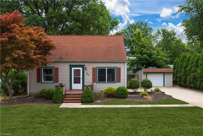 Avon Lake Single Family Home Active Under Contract: 107 Forest Boulevard