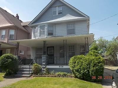 Cleveland Single Family Home Active Under Contract: 924 Nathaniel Road