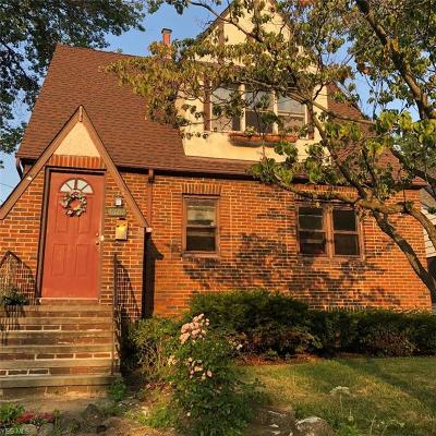 Rocky River Single Family Home Active Under Contract: 1601 Rockland Avenue