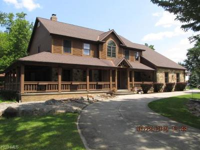 North Royalton Single Family Home For Sale: 3990 Wallings Road