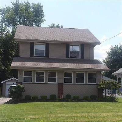 Struthers Single Family Home Active Under Contract: 80 Como Street