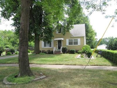 Parma Heights Single Family Home For Sale: 6297 W 130th Street