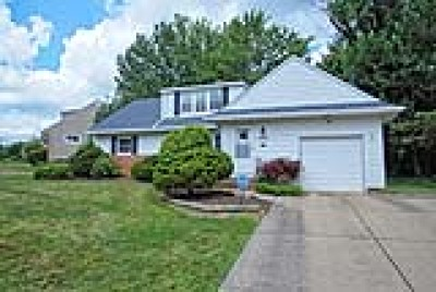 Beachwood Single Family Home Active Under Contract: 24015 Glenhill Drive