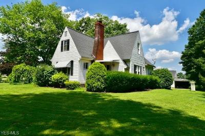 Single Family Home Active Under Contract: 488 Benton Road