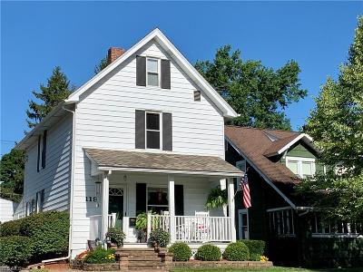 Columbiana Single Family Home Active Under Contract: 119 N Elm Street
