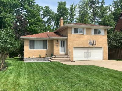 Parma Heights Single Family Home Active Under Contract: 10620 Notabene Drive