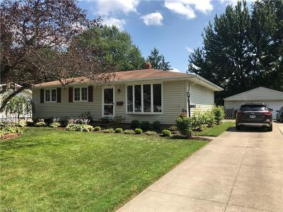 Olmsted Township Single Family Home Active Under Contract: 26937 Eastwood Lane