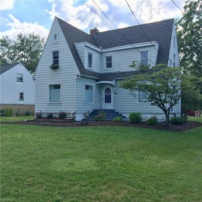 Hubbard Single Family Home Active Under Contract: 158 Grandview Avenue