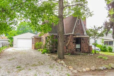 Willoughby Single Family Home For Sale: 778 Chestnut Boulevard