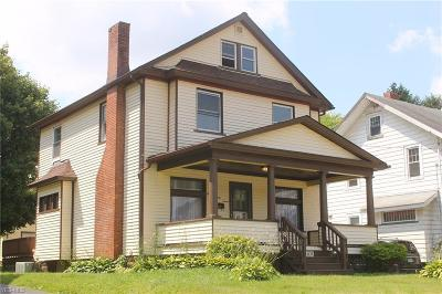 Single Family Home Active Under Contract: 1637 Brownlee Avenue