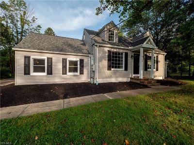 Chagrin Falls Single Family Home For Sale: 4179 Brainard Road
