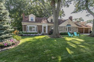 Rocky River Single Family Home For Sale: 459 Wagar Road