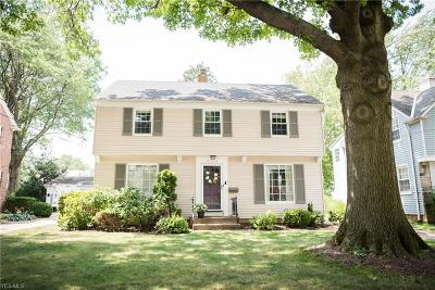 Rocky River Single Family Home Active Under Contract: 2794 Gasser Boulevard