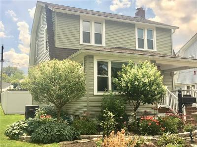 Ashtabula Single Family Home Active Under Contract: 2038 E 42nd Street