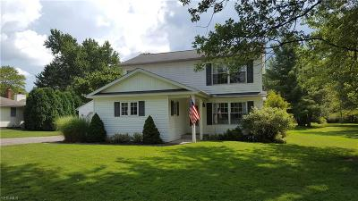 Chagrin Falls Single Family Home For Sale: 5109 Chillicothe Road