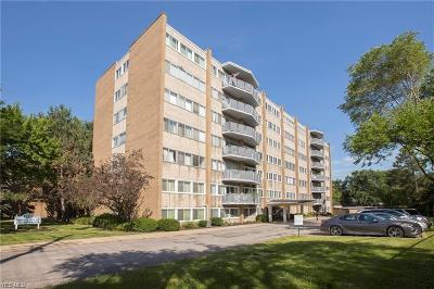 Parma Heights Condo/Townhouse For Sale: 6640 Pearl Road #307