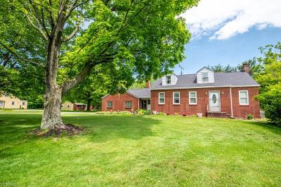 Single Family Home For Sale: 2552 Homeworth Road