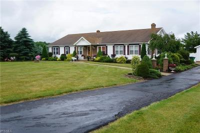 Garrettsville Single Family Home Active Under Contract: 12702 State Route 88