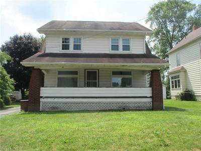 Struthers Single Family Home For Sale: 30 Wilson Street