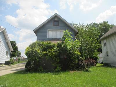 Struthers Single Family Home For Sale: 64 Walnut Street