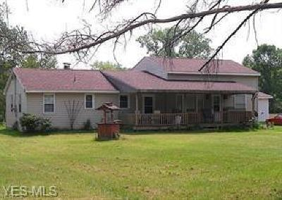 Andover Single Family Home For Sale: 4506 Center Road