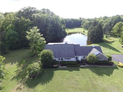 Saybrook Single Family Home For Sale: 2871 Brown Road