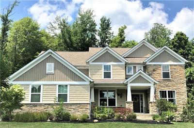 Chagrin Falls Single Family Home For Sale: 7690 Cottonwood Trail